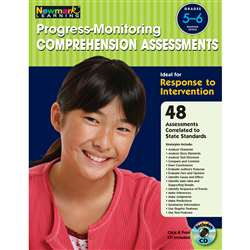 Progress Monitoring Comprehension Assessments Gr 5-6 By Newmark Learning