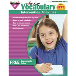 Everyday Vocabulary Gr 2 Intervention Activities By Newmark Learning