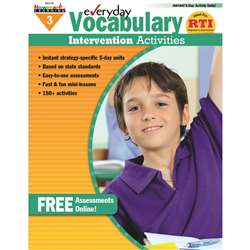 Everyday Vocabulary Gr 3 Intervention Activities By Newmark Learning