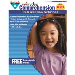 Everyday Comprehension Gr K Intervention Activities By Newmark Learning