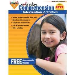 Everyday Comprehension Gr 3 Intervention Activities By Newmark Learning