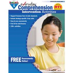 Everyday Comprehension Gr 5 Intervention Activities By Newmark Learning