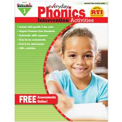 Everyday Phonics Gr 1 Intervention Activities By Newmark Learning