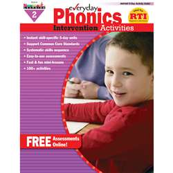 Everyday Phonics Gr 2 Intervention Activities By Newmark Learning