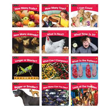 Math Content Area Leveled Readers English 12 Titles By Newmark Learning
