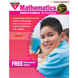 Everyday Mathematics Gr 4 Intervention Activities By Newmark Learning