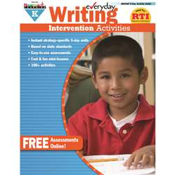 Everyday Writing Gr K Intervention Activities By Newmark Learning