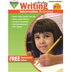 Everyday Writing Gr 1 Intervention Activities By Newmark Learning