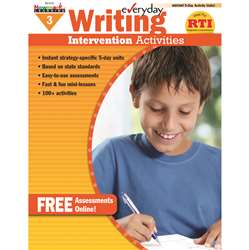 Everyday Writing Gr 3 Intervention Activities By Newmark Learning