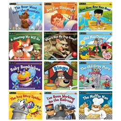 Rising Readers Leveled Books Nursery Rhyme Songs & Stories 12 By Newmark Learning