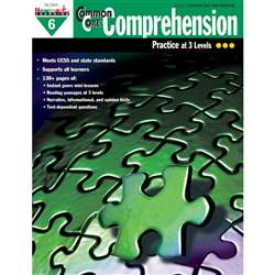 Common Core Comprehension Gr 6 By Newmark Learning