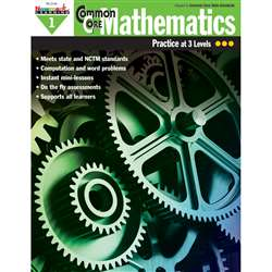 Common Core Mathematics Gr 1 By Newmark Learning