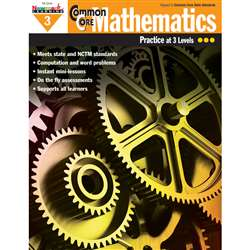 Common Core Mathematics Gr 3 By Newmark Learning