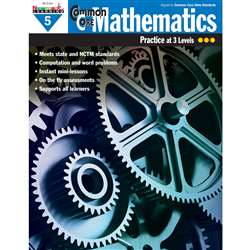 Common Core Mathematics Gr 5 By Newmark Learning