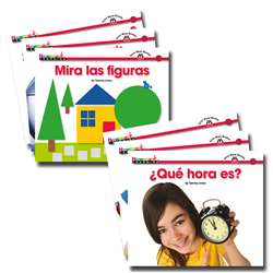 En Espanol Sight Word Readers Math Set Of 16 By Newmark Learning