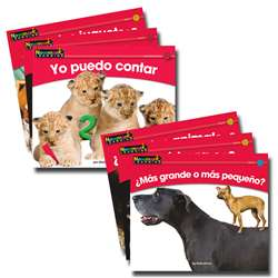 En Espanol Rising Readers Math Vol 1 Set Of 12 By Newmark Learning
