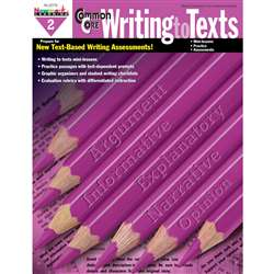 Common Core Writing To Text Book Grade 2 By Newmark Learning