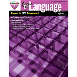 Common Core Practice Language Book Grade 2 By Newmark Learning