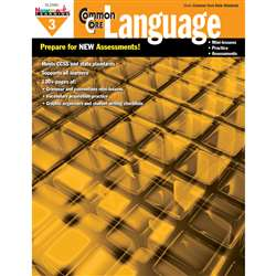 Common Core Practice Language Book Grade 3 By Newmark Learning