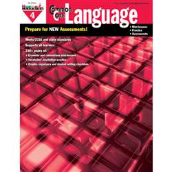 Common Core Practice Language Book Grade 4 By Newmark Learning