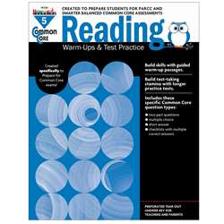 Shop Common Core Reading Gr 5 Warmups & Test Practice - Nl-2265 By Newmark Learning