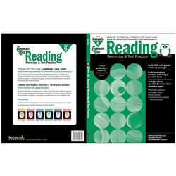 Shop Common Core Reading Gr 6 Warmups & Test Practice - Nl-2266 By Newmark Learning