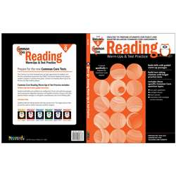 Shop Common Core Reading Gr 8 Warmups & Test Practice - Nl-2268 By Newmark Learning