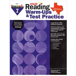Staar Read Warm Ups Test Prac Gr 7, NL-2334