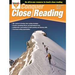 Conquer Close Reading Gr 3, NL-3272
