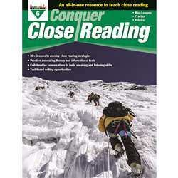 Conquer Close Reading Gr 6, NL-3275