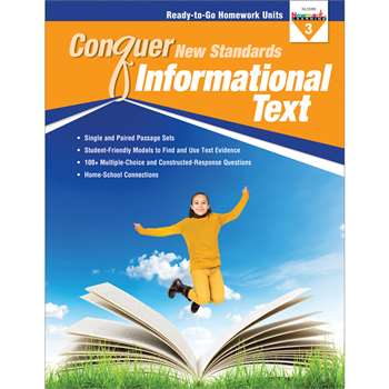 Conquer New Standards Informational Text Gr 3, NL-3588