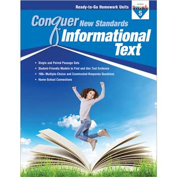 Conquer New Standards Informational Text Gr 5, NL-3592