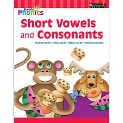 Hands On Phonics Short Vowels Consonants, NL-4645