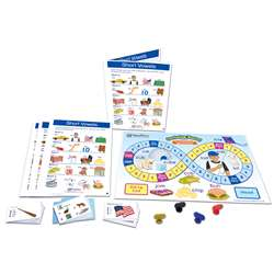 Lang Arts Learning Centers Short Vowels, NP-221914