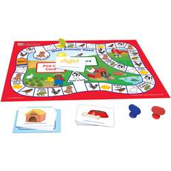 Learning Center Game All Abt Animal Science Readin, NP-240022