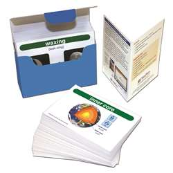 Earth Science Vocabulary Builder Flash Card Set Mi, NP-446018