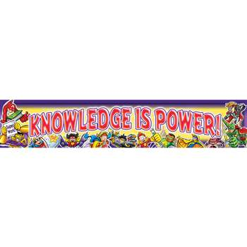 Knowledge Is Power Banner By North Star Teacher Resource