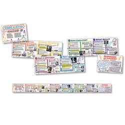 "Science "" Action Time Link Bulletin Board Set, NST1416"