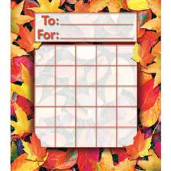 Fall Leaves Mini Incentive Charts By North Star Teacher Resource