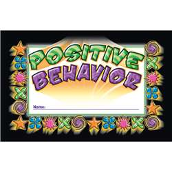 Incentive Punch Cards Positive Behavior 36/Pk By North Star Teacher Resource