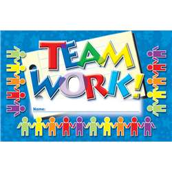 Incentive Punch Cards Teamwork 36/Pk By North Star Teacher Resource