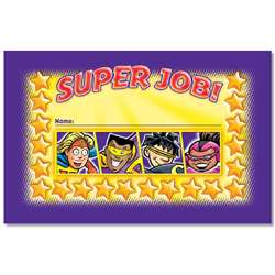 Super Job Incentive Punch Cards By North Star Teacher Resource