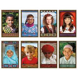 All Kinds Of Kids International Bulletin Board Set By North Star Teacher Resource