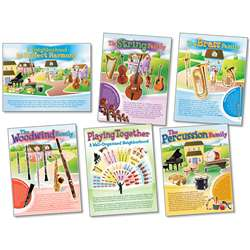 Musical Instruments Posters By North Star Teacher Resource