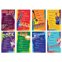 Music Genres Bulletin Board Set By North Star Teacher Resource