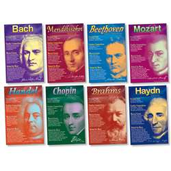 Shop Composers Bulletin Board Set - Nst3072 By North Star Teacher Resource