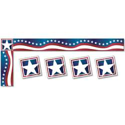Stars & Stripes Trimmer All Around The Board, NST4244