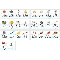 Alphabet Lines Modern Manuscript By North Star Teacher Resource