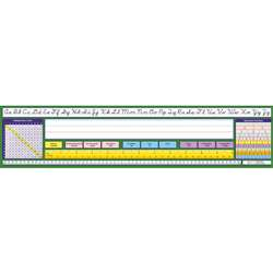 Contemporary Cursive Desk Plate 17-1/2 X 4 36Pk By North Star Teacher Resource