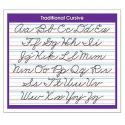 Desk Prompts Traditional Cursive Adhesive, NST9056